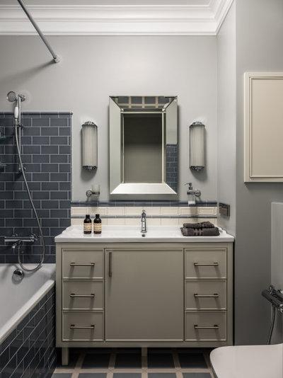 Неоклассика Ванная комната by Posh Interiors