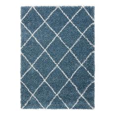 Brisbane 03 Rug, Slate Blue, 152x213 cm
