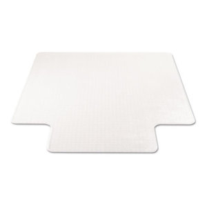 """Supermat Frequent Use Chair Mat, Medium Pile Carpet, Beveled, With Lip, 36""""X48"""""""