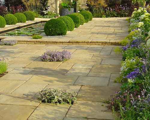 Formal Pond With Rill