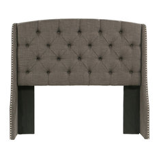 Peyton Headboard, Gray, Queen