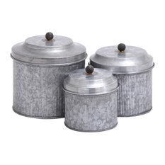 Theo 3-Piece Metal Canister Set