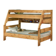 Twin Over Full Bunk Bed Cinnamon, 3544720-4739