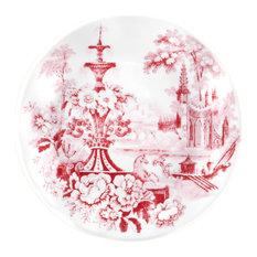 Cambridge Rose In Crimson Appetizer Plate, Set Of 4
