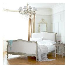 Soft Grey Raffaella Bed