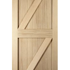 White Oak Oregon FLB Interior Door - Internal Doors