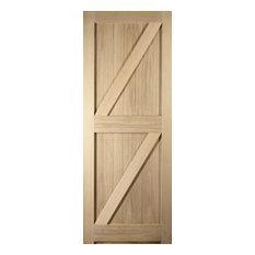 White Oak Oregon FLB Interior Door