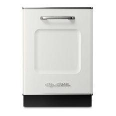 Retro Dishwasher, White