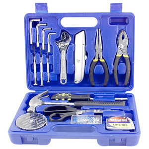 170-Piece Household Tool Kit With Tool Box, Pink ...