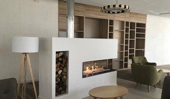 Conception et fabrication de cheminées sur-mesure