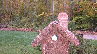Exclusive Fine Craft Birdhouses for Home & Garden Decor
