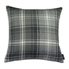 McAlister Angus Filled Cushion, Charcoal Grey, 43x43 cm