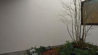 桃井M邸-中庭を中心としたコの字配置の立体コートハウス-