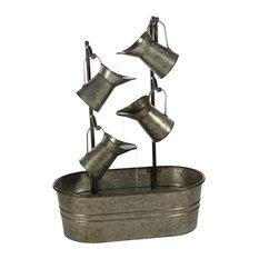 Grey Iron Farmhouse Fountain, 34 x 24 x 13