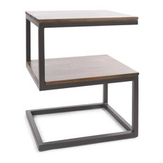 Maxwell S-Shaped Side Table
