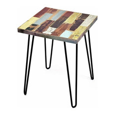 Taylor Side Table Reclaimed Wood Square