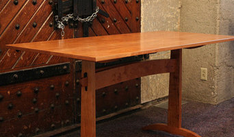 Trestle Table in Natural Cherry