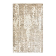 Hagues, Contemporary Abstract Hand Loomed Area Rug, Beige