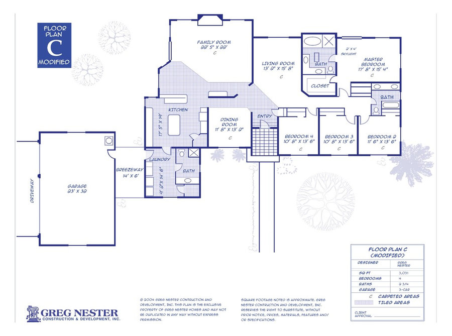 Nester Customizable Floor Plans