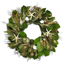 Beach Style Wreaths And Garlands by Nautical Luxuries