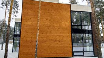 Современный жилой дом для пос. Новая Европа