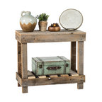 Barnwood Entry Table, Barnwood