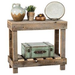 Rustic Console Tables by Del Hutson Designs