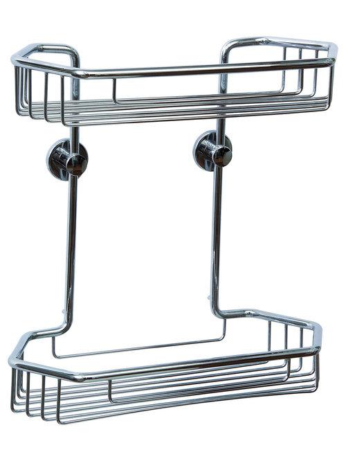 Nie Wieder Bohren   Germany   No Drilling Required Shower Caddy   Rustproof    Shower Caddies