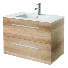Modern Bath Vanity Concetto 5500 Elm 32 Bathroom Vanities And Sink Consoles