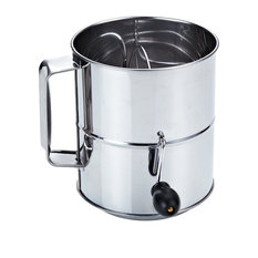 Cook N Home - Cook N Home Stainless Steel 8-Cup Flour Sifter - Sifters