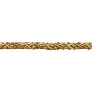 "16 Yards Light Gold 3//16/"" Decorative Rope Cord 24 Karat Gold"