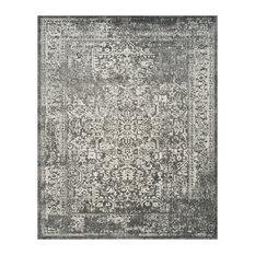 Safavieh Evoke Collection EVK256 Rug, Gray/Ivory, 8'x10'