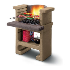 LaToscana Bajkal MB Charcoal Grill/Fireplace Adjustable In 3 Heights