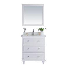 """Luna Collection, White, 30"""""""