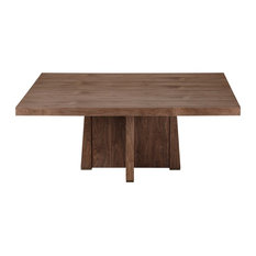 """Perry Square Dining Table, Light Walnut, 72""""x72"""""""
