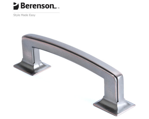 4069 10VB P Verona Bronze Cabinet Pull By Berenson   Cabinet And Drawer  Handle