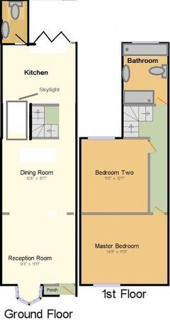 3 Bed Bathroom Downstairs Or 2 Bed Bathroom Upstairs Houzz Uk