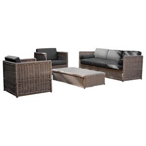 Harting Outdoor Lounges Set, Sofa, 2 Chairs and Table