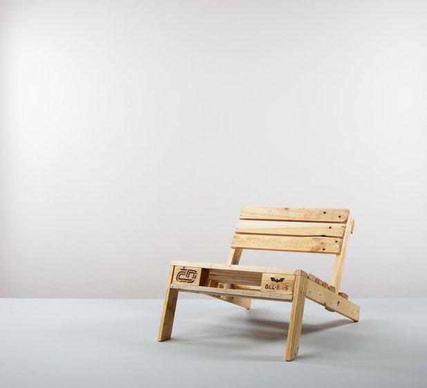 Von der m llhalde zum m bel 7 designer die auf upcycling for Sessel industrial