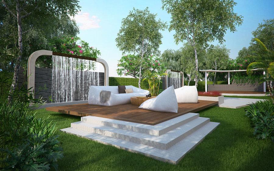 Mai House Hotel-Landscape design