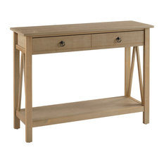 Titian Console Table Antique, Rustic Gray