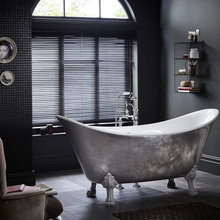 Glamourous bathrooms in grey