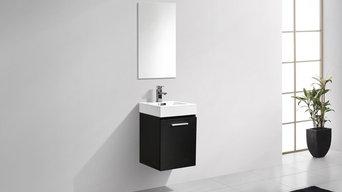 Bliss Wall Mount Modern Bathroom Vanity