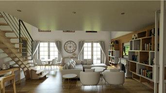 Appartement 55 m² Chambre en mezzanine
