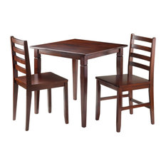 Kingsgate 3 -Piece Dinning Table With 2 Hamilton Ladder Back Chairs