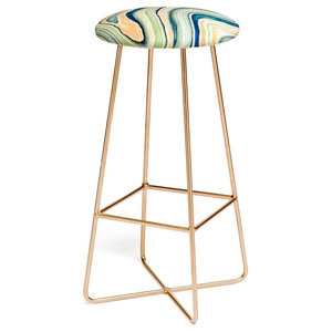Deny Designs Sharon Turner Pips Palest Peach Bar Stool Contemporary Bar Stools And Counter Stools By Deny Designs Houzz