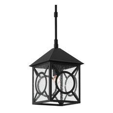9500-0007 Ripley Small Outdoor Lantern, Midnight