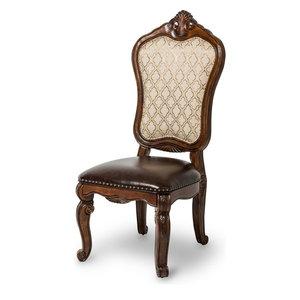 Michael Amini Tuscano Melange Side Chairs, Set of 2