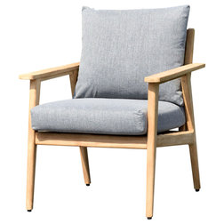 Midcentury Outdoor Lounge Chairs by International Home Miami Corp