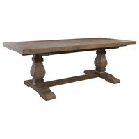 Quincy Reclaimed Pine Dining Table by Kosas Home, 30hx114wx39d